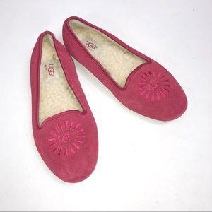 UGG Pink Flats Size 6
